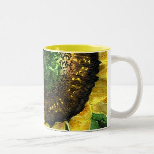 Sunflower 08c Painting Mug Watercolor Art
