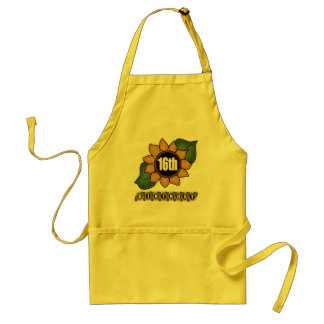 Sunflower 16th Birthday Gifts Apron