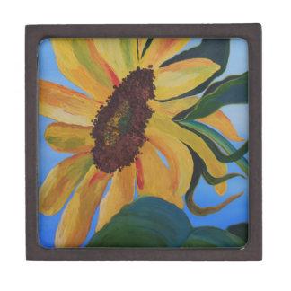 Sunflower 1.JPG Premium Keepsake Box
