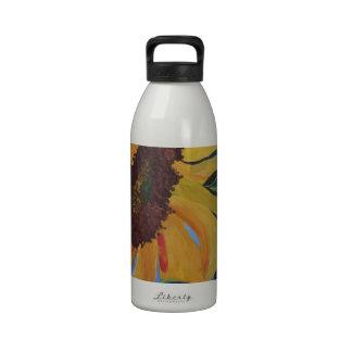 Sunflower 1.JPG Water Bottles