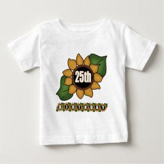 Sunflower 25th Birthday Gifts T-shirt