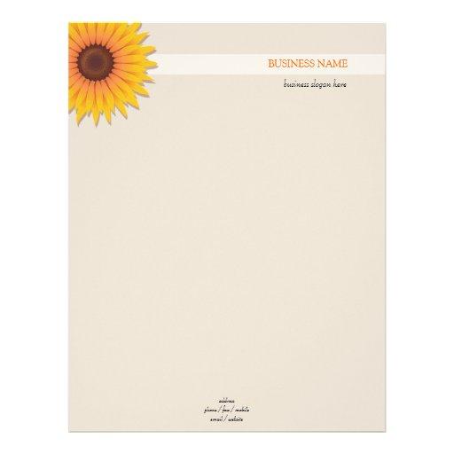 Sunflower 2 letterhead