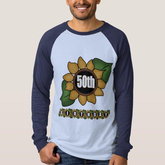 Sunflower 50th Birthday Gifts T-Shirt
