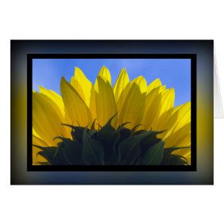 Sunflower 5 card