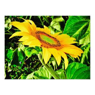 Sunflower 6.5x8.75 Paper Invitation Card