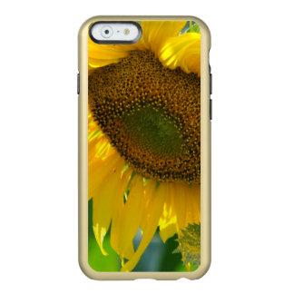 sunflower-84 funda para iPhone 6 plus incipio feather shine
