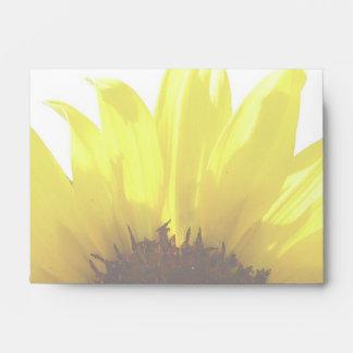 Sunflower A6 Envelope