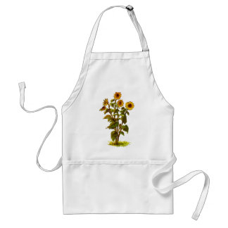 Sunflower Adult Apron