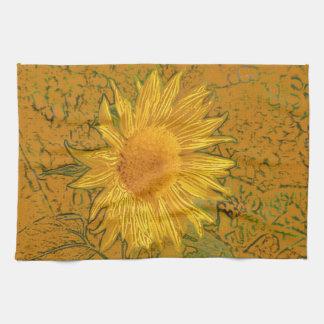 Sunflower American Kitchen Towel