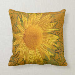 Sunflower American Mojo Pillow