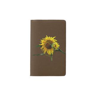 Sunflower And Baby Pocket Moleskine Notebook