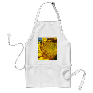 Sunflower and Bee Adult Apron