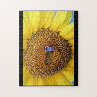 Sunflower and Bee Puzzle