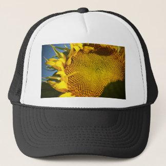 Sunflower and Bee Trucker Hat