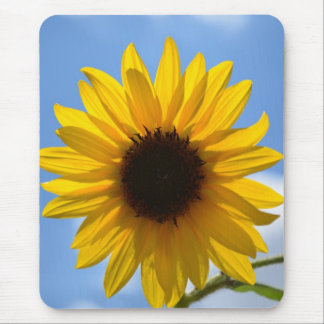 Sunflower and Blue Sky mouse pad