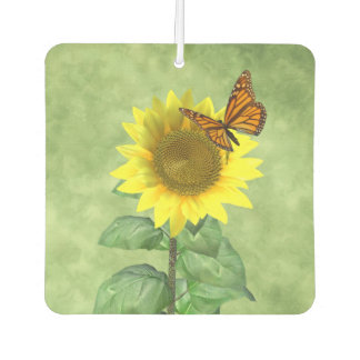 Sunflower and Butterfly Air Freshener