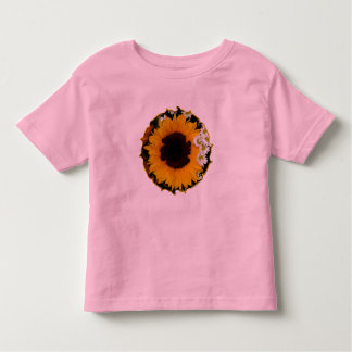 """Sunflower and Daisies """"Curlicue"""" Special Effect Toddler T-shirt"""