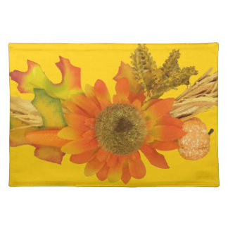 Sunflower And Fall Foliage American MoJo Placemat