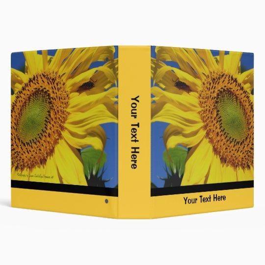 Sunflower And Friend Nature Binder