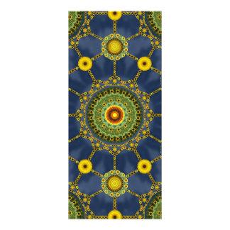 Sunflower and Pomegranate Bookmark Rack Card