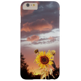 SUNFLOWER AND SUMMER SUNSET BARELY THERE iPhone 6 PLUS CASE