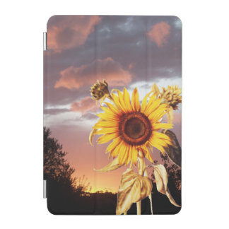 SUNFLOWER AND SUMMER SUNSET iPad MINI COVER