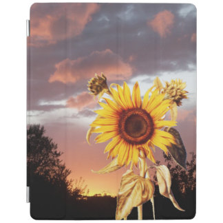 SUNFLOWER AND SUMMER SUNSET iPad SMART COVER