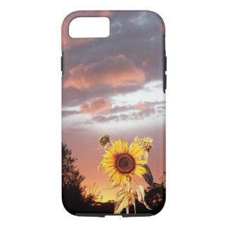 SUNFLOWER AND SUMMER SUNSET iPhone 7 CASE