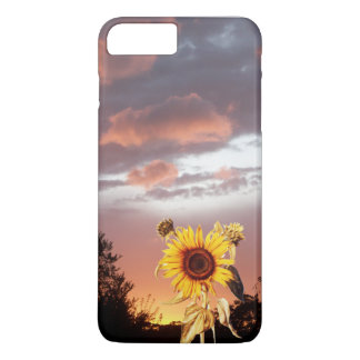 SUNFLOWER AND SUMMER SUNSET iPhone 7 PLUS CASE