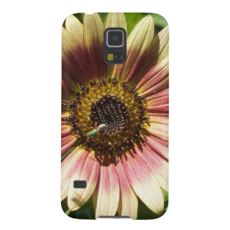 Sunflower and The Green Bee Galaxy S5 Cover