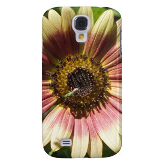 Sunflower and The Green Bee Samsung Galaxy S4 Cover