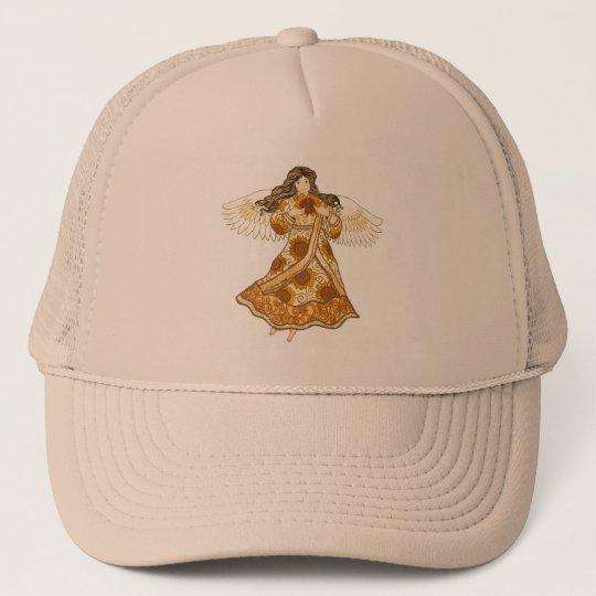 Sunflower Angel Trucker Hat