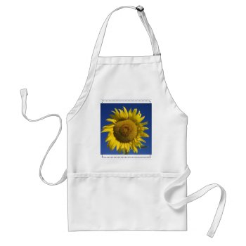 Sunflower Apron by creativeconceptss at Zazzle