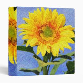 Sunflower Art Binder