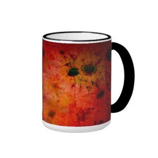 Sunflower Art Painting Mugs
