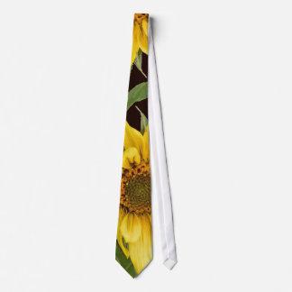 Sunflower Art Tie