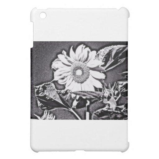 Sunflower at night iPad mini cases