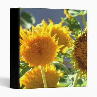 Sunflower Avery Binder