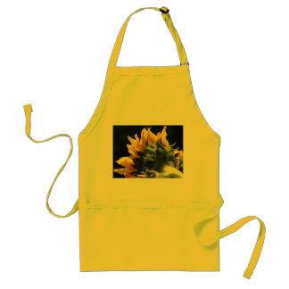 Sunflower backside apron