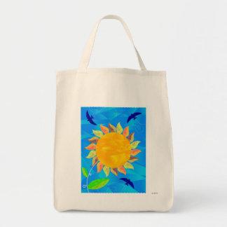 Sunflower Canvas Bags