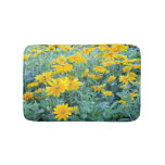 Sunflower Bath Mat at Zazzle