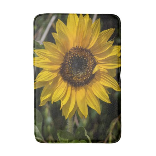 Sunflower Bathroom Mat