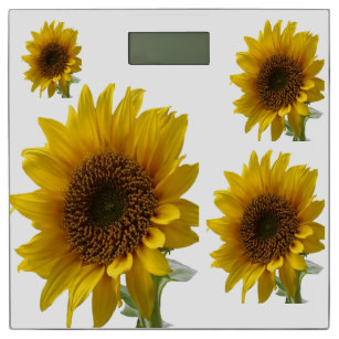 Sunflower Bathroom Scale