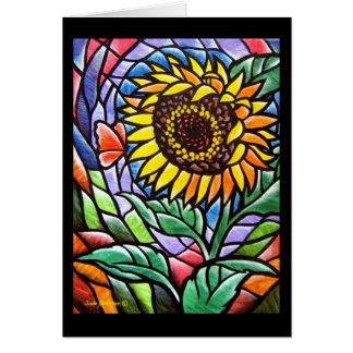 Sunflower Beauty Card - 281 Sunflower Beauty