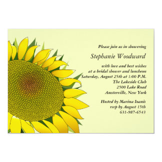 Sunflower Beauty Invitation
