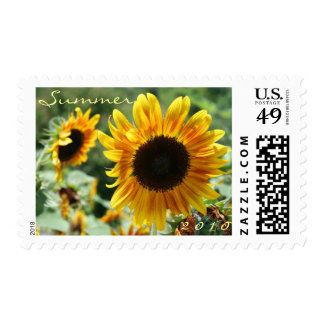 Sunflower Beauty Stamp