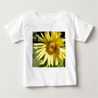 Sunflower Bee Baby T-Shirt