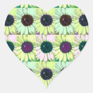 Sunflower Bee Pop Sticker