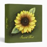 Sunflower Binder