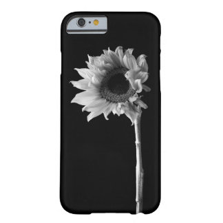 Sunflower - Black and White Photograph Barely There iPhone 6 Case